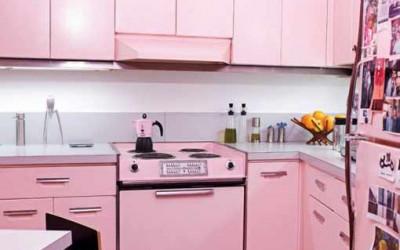 Różowa kuchnia 1