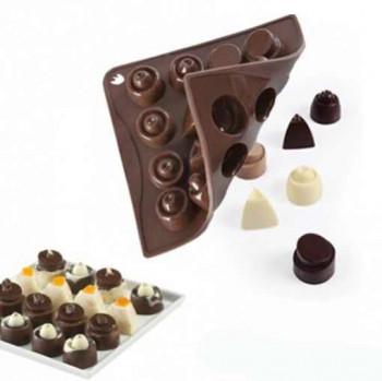 Silikonowa forma na czekoladki Pavoni Chocoice 1