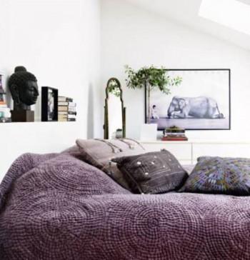 Skandynawski apartament z orientalną nutą 7
