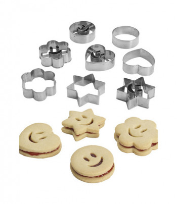 Smiley Face Cookie Cutters