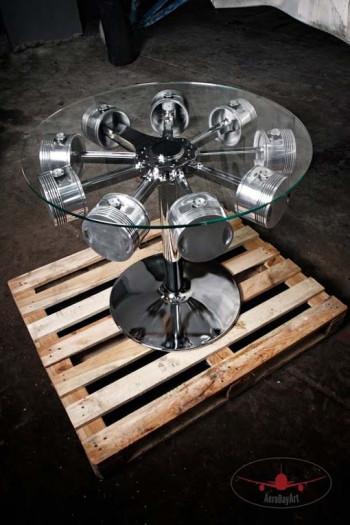 Stolik z silnika gwiazdowego - unikalny model