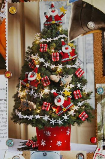 Świąteczne drzewko – ozdoba każdego domu.