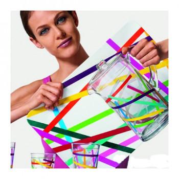 Szklanki 0,3 litra 4 szt. ZAK! United Colors of Benetton - Logomania 2