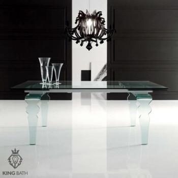 Szklany stół King Bath