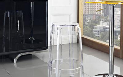 Transparentne stołki D2