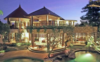 Tropikalna willa w tropikach