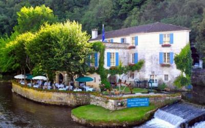 Uroczy hotel we Francji