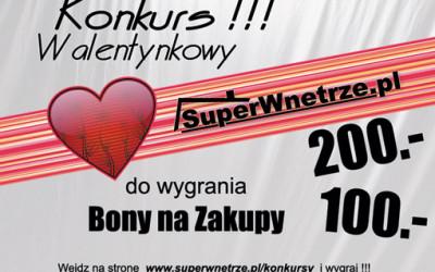 Walentynkowy konkurs SW