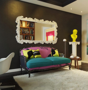Więc chodź pomaluj mój świat - mieszkanie pełne intensywnych kolorów