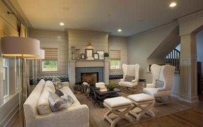 Wnętrze domu w stylu rzemieślniczym