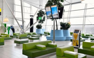 Współczesne, komfortowe lotnisko
