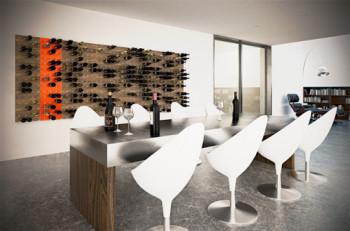 Wyeksponuj swoją kolekcję butelek wina