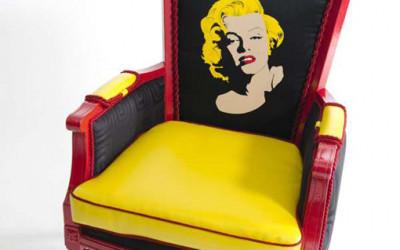 Wyrafinowany fotel dumą salonu