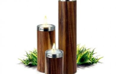 Zestaw 3 świeczników Ad Hoc Tavolo