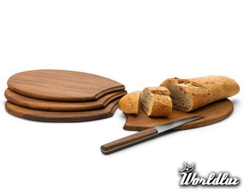Zestaw 4 desek kuchennych Skagerak Platters  1