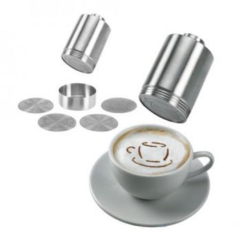 Zestaw do dekorowania cappuccino Leopold 2