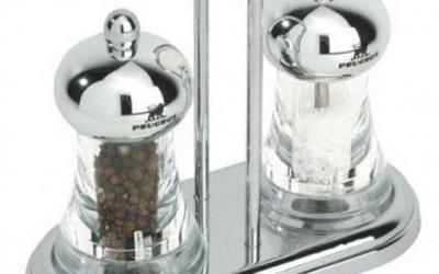 Zestaw młynków do soli i pieprzu Peugeot Brasserie