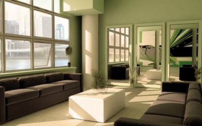 Zielone salony na wiosnę