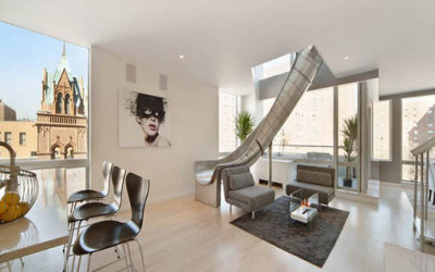 Zjeżdżalnia w mieszkaniu, czyli komfort i luksus
