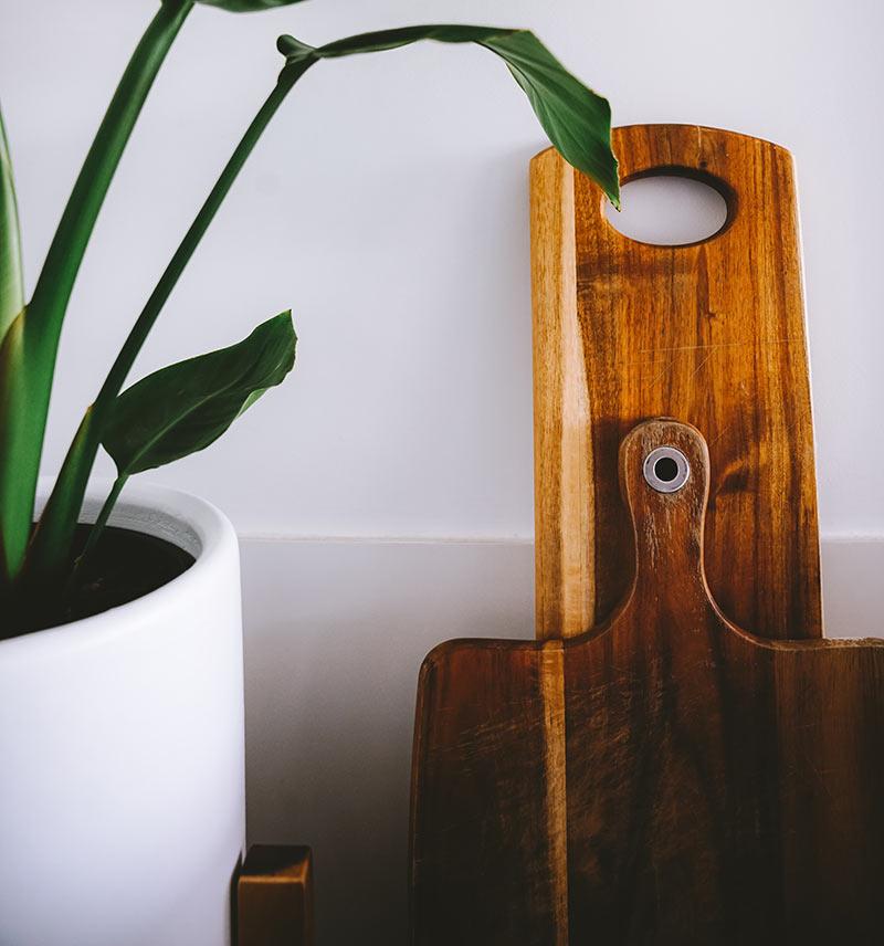 drewniane deski kuchenne do krojenia