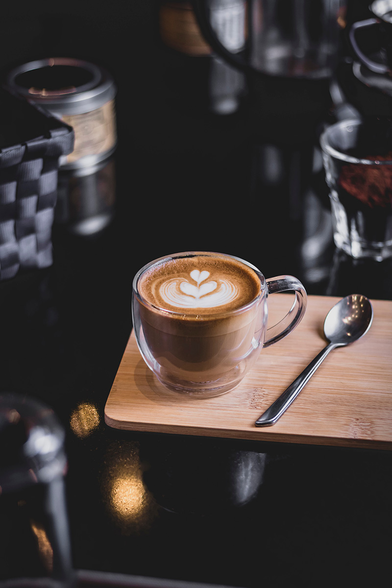 Szklanka termiczna na cappuccino