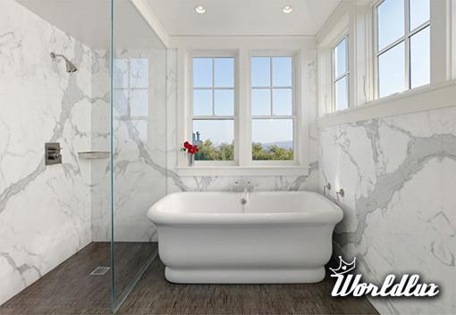 Wyrafinowane wzory łazienkowe z użyciem marmuru - Marmur ...