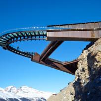 Szklany punkt widokowy Glacier Skywalk