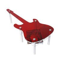 Stolik w kształcie gitary
