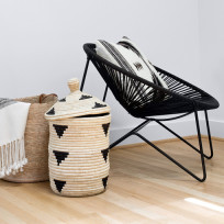 Kolorowe krzesła Mexico