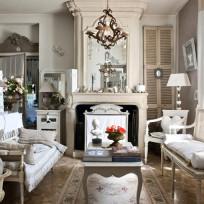 Salon w stylu francuskim