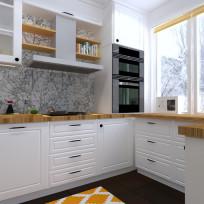 Kuchnie urządzone w stylu skandynawskim