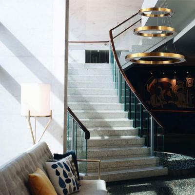Lampy wiszące Circle - złota elegancja Step into Design