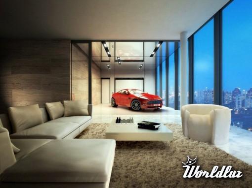 Luksusowe Apartamenty W Singapurze Entuzjaści Motoryzacji Będą