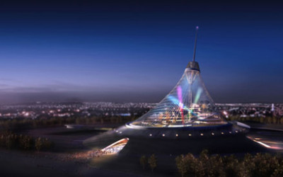 Astana i jej namiot