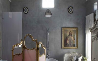 Beton na luksusowo, czyli 18 niesamowitych łazienek