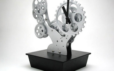 Bonsai Gear Clock