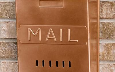 Ciekawa skrzynka pocztowa