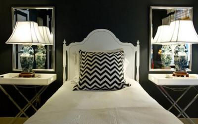 Ciemne i nastrojowe tapety do sypialni