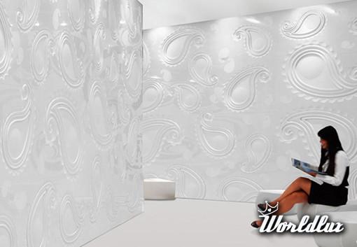 Płytki 3D od Citco - Włoska marka Citco wypuściła na rynek kolekcje płytek Paisley. Duże, okaza ...