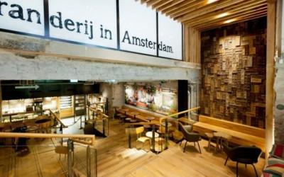 Concept store Starbucksa w Amsterdamie