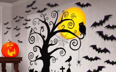 Dekoracja idealna na imprezę z okazji Halloween