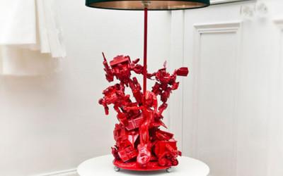 Designerskie lampy z postaciami z bajek