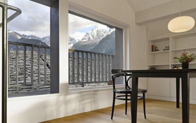 Dom w Alpach szwajcarskich 1