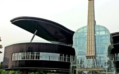 Dom w kształcie fortepianu