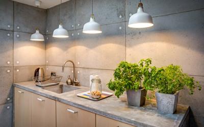 Donice z betonu od Morgan & Möller