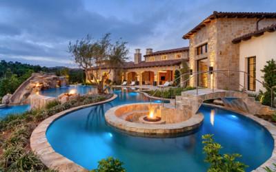 Fascynujące ogrody z basenem