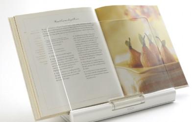 Funkcjonalna podkładka pod książkę kucharską