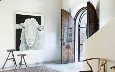 Górski dom, w którym odnajdziesz liczne nawiązania do wsi i natury