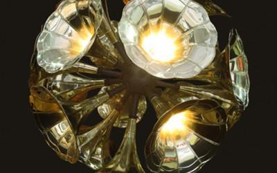 Gramophone Chandelier  2