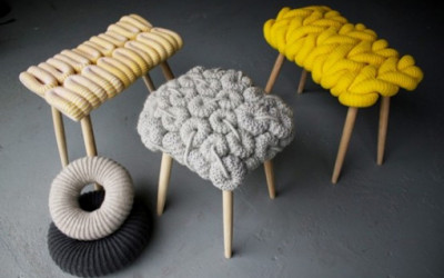 Knitted Stools1